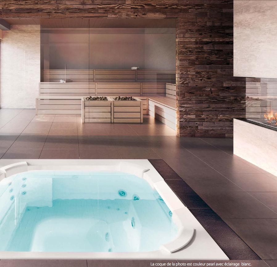 Wave encastrable piscine spa 74 haute savoie et suisse for Piscine encastrable