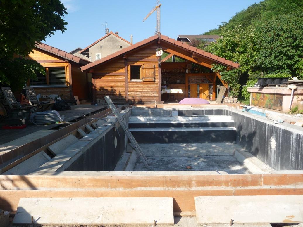 R novation 1 piscine spa 74 haute savoie et suisse ermeco for Piscine hammam sauna